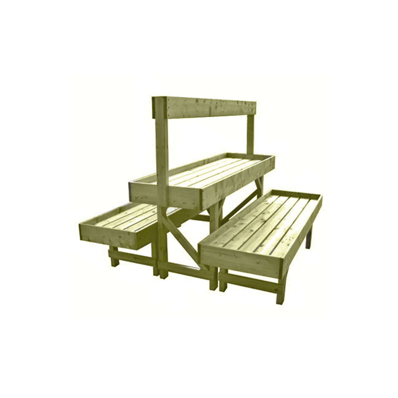 Double Flood Bench
