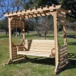 Omega Rising Sun Wooden Swing