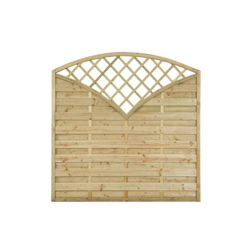Exeter Pressure Treated Decorative Fence Panel