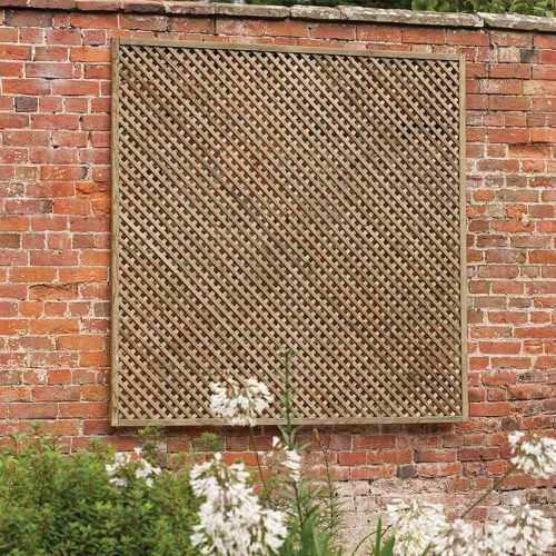 Wisley Diamond Lattice Trellis Panel