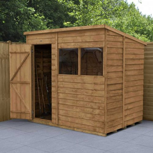 Overlap Dip Treated 7×5 Pent Shed
