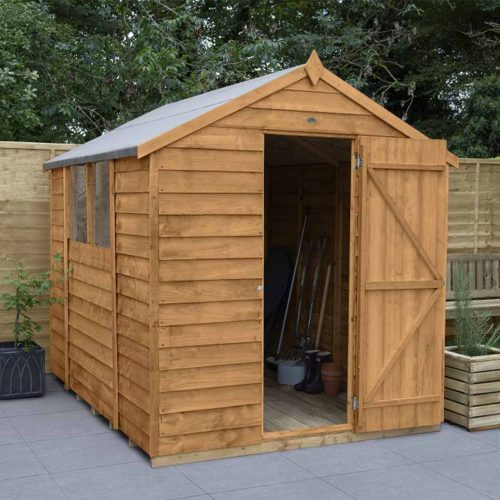 Overlap Dip Treated 8×6 Apex Shed
