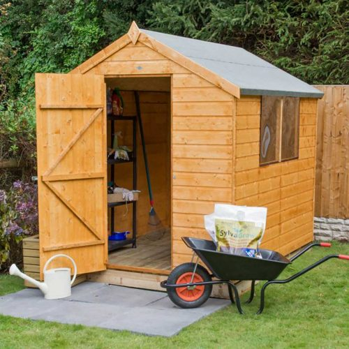 Shiplap Dip Treated 8×6 Apex Shed