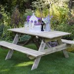 Rectangular Picnic Table – Small
