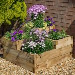 Caledonian Tiered Wooden Raised Bed