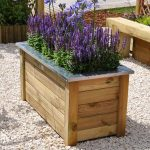 Cambridge Wooden Rectangular Planter