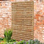 Premium Rosemore Diamond Wooden Trellis Panel