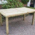 Rosedene Wooden Rectangular Table