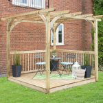 Ultima Pergola and Decking Kit – 2.4 x 2.4m