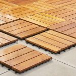 Smooth Softwood Decking Tiles 50x50cm