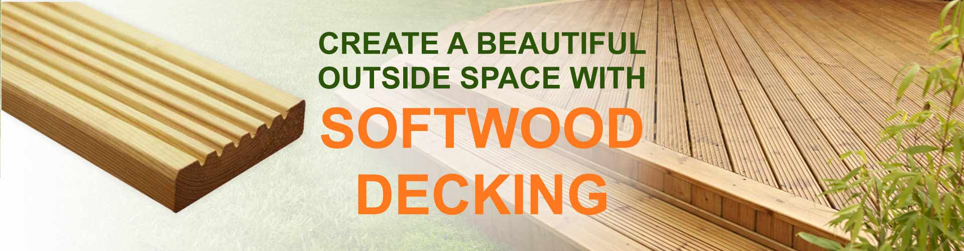 Softwood Decking